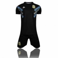 2018 world cup argentina away black soccer unifor