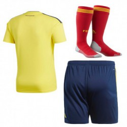 Colombia 2018 world cup home full suit