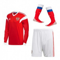 Russia 2018 world cup home long sleeve full suit