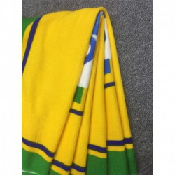 Brazil soccer fans bath beach towel- yeallow,shop by towe
