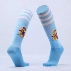 Joe adult spain blue soccer sock 2017/18,shop by adidas ult soc