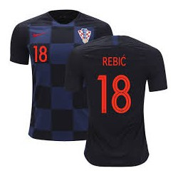 2018 ante rebic croatia soccer jersey shirt