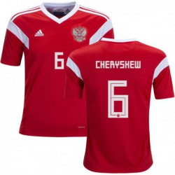 Russia CHERYSHEV Denis 2018 World Cup Home Jerse