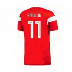 Russia fyodor smolov 2018 world cup home jerse