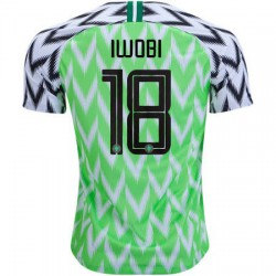 Nigeria Iwobi 2018 World Cup Home Jerse