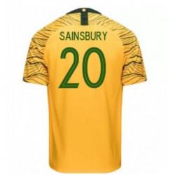 Australia 2018 world cup soccer jersey shirt