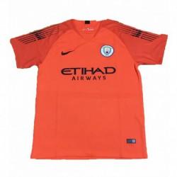 2018-2019 manchester city orange goalkeeper soccer jerse