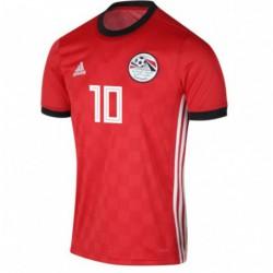 Egypt Home 10 M.SALAH Red Soccer Jersey Shirt 201