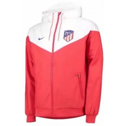 Atletico madrid white red windbreaker 2018-201