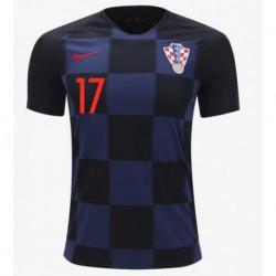 2018 mario mandzukic croatia soccer jersey shirt