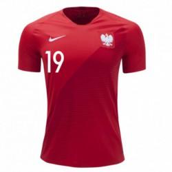 Piotr zielinski 2018 poland soccer jersey shirt