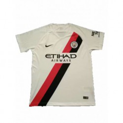 2018-2019 manchester city white training short shirt jerse