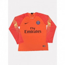 2018-2019 paris orange goalkeeper long sleeve soccer jerse