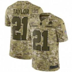 Men NFL Washington Redskins Taylor Camouflage Jerse