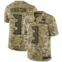 Men NFL Tampa Bay Buccaneers WINSTON Camouflage Jerse