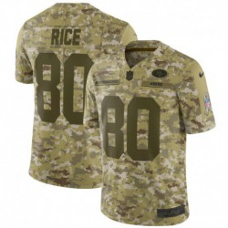 Men NFL San Francisco 49ers RICE Camouflage Jerse
