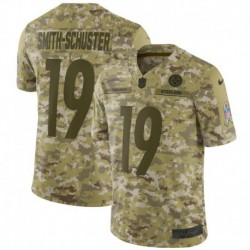 Men NFL Pittsburgh Steelers SMITH-Schuster camouflage jerse