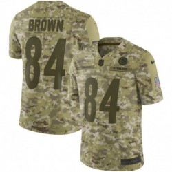 Men NFL Pittsburgh Steelers Brown Camouflage Jerse