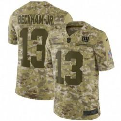 Men NFL New York Giants Beckham-Jr camouflage jerse
