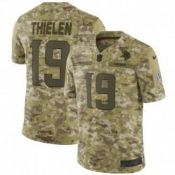 Men NFL Minnesota Vikings THIELEN Camouflage Jerse
