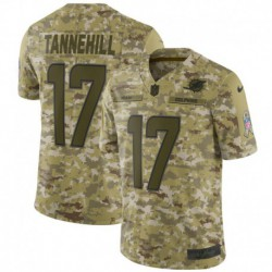 Men NFL Miami Dolphins TANNEHILL Camouflage Jerse