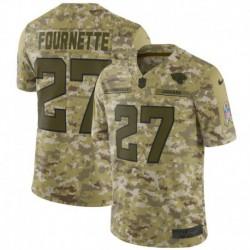 Men NFL Jacksonville Jaguars FOURNETTE Camouflage Jerse