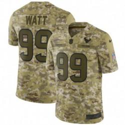 Men NFL Houston Texans WATT Camouflage Jerse