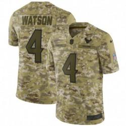 Men NFL Houston Texans Watson Camouflage Jerse
