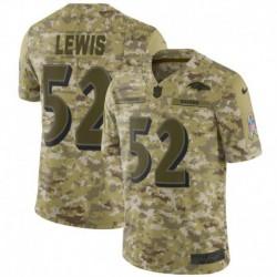 Men NFL Baltimore Ravens LEWIS Camouflage Jerse