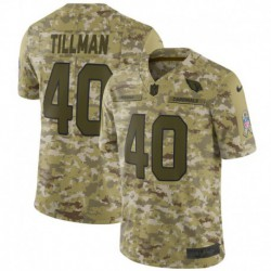 Men NFL Arizona Cardinals TILLMAN Camouflage Jerse