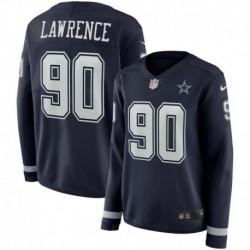 Men NFL Dallas Cowboys LAWRENCE Long Sleeve Jerse