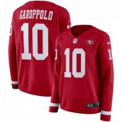 Women NFL San Francisco 49ers Garoppolo Long Sleeve Jerse