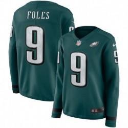 Women NFL Philadelphia Eagles Foles Long Sleeve Jerse