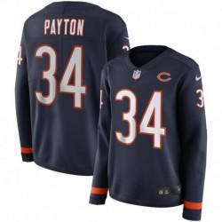 Women NFL Chicago Bears Payton Long Sleeve Jerse