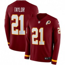 Men NFL Washington Redskins Taylor Long Sleeve Jerse