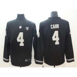 Men NFL Oakland Raiders Carr Long Sleeve Jerse