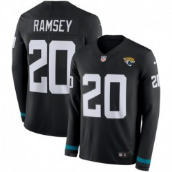 Men NFL Jacksonville Jaguars Ramsey Long Sleeve Jerse