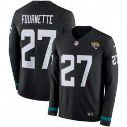 Men NFL Jacksonville Jaguars FOURNETTE Long Sleeve Jerse