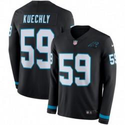 Men NFL Carolina Panthers Kuechly Long Sleeve Jerse