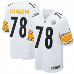 Alejandro Villanueva Pittsburgh Steelers Game Jerse