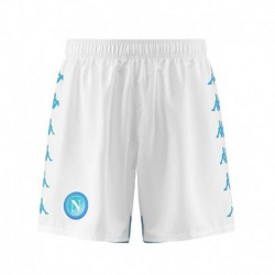 Napoli home white shorts 201