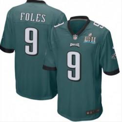 Yuth Nick Foles Philadelphia Eagles Nike Super Bowl LII Bound Game Jerse