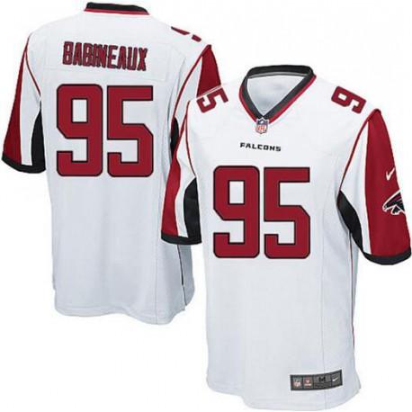 Cheap NFL Replica Helmets,Best Place To Buy Cheap NFL Jerseys,Atlanta Falcons 95 Jonathan BabineauxPro Line Alternate Game Jers