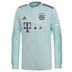 2018-2019 bayern munchen away long sleeve soccer jerse