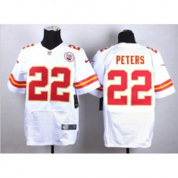 Marcus peters kansas city chiefsgame jersey - red/Whit
