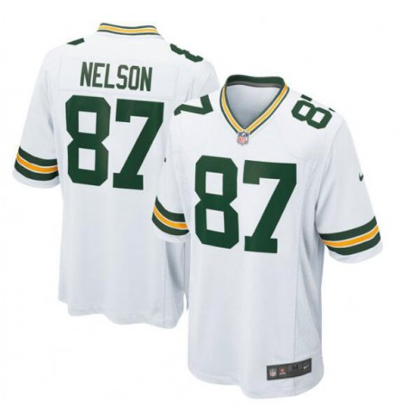 Jordy nelson green bay packers game jersey - green/White/Purpl