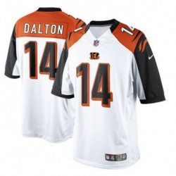 Andy dalton cincinnati bengalsgame jersey - black/Orange/Whit