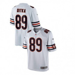 Mike ditka chicago bearsretired game jersey - navy blue/Whit