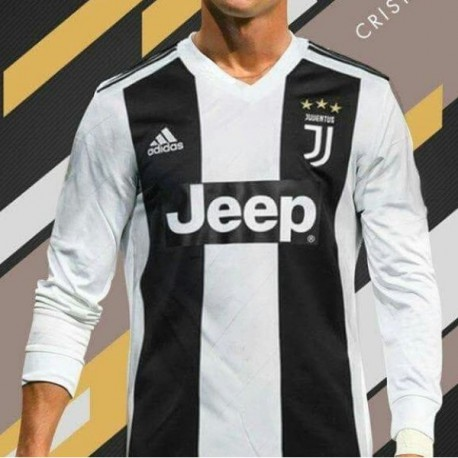 lowest price 50a5d 91690 Juventus 2018 Kit Ronaldo,Kit Dls Juventus 2018,2018-2019 Juventus Home  Long Sleeve Soccer Jersey