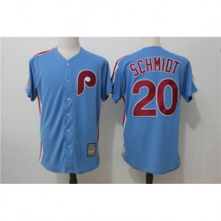 Mike schmidt philadelphia phillies majestic cooperstown player cool base jerse